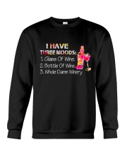 WINE THREE MOOD Crewneck Sweatshirt thumbnail