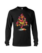 FLAMINGO TREE CHRISTMAS Long Sleeve Tee thumbnail