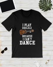 I CANNOT DANCE UKULELE Classic T-Shirt lifestyle-mens-crewneck-front-17