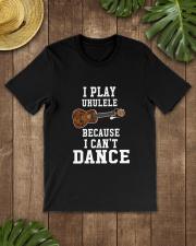 I CANNOT DANCE UKULELE Classic T-Shirt lifestyle-mens-crewneck-front-18