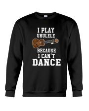 I CANNOT DANCE UKULELE Crewneck Sweatshirt thumbnail