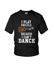 I CANNOT DANCE UKULELE Youth T-Shirt thumbnail