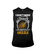 THERAPY PLAY MY UKULELE Sleeveless Tee thumbnail