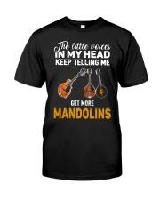 TELLING ME MANDOLIN Classic T-Shirt front