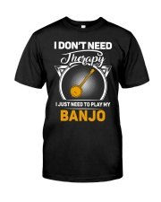 BANJO THERAPY Classic T-Shirt front