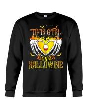 WINE GIRL HALLOWEEN Crewneck Sweatshirt thumbnail