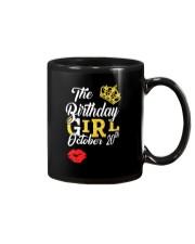 OCTOBER BIRTHDAY GIRL Mug thumbnail