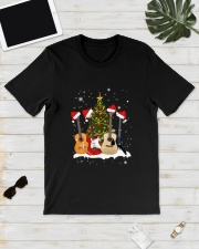 TREE CHRISTMAS GUITAR Classic T-Shirt lifestyle-mens-crewneck-front-17