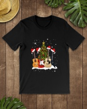 TREE CHRISTMAS GUITAR Classic T-Shirt lifestyle-mens-crewneck-front-18