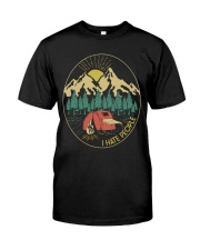 CAMPING I HATE PEOPLE  Classic T-Shirt front