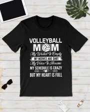 VOLLEYBALL MOM FULL Classic T-Shirt lifestyle-mens-crewneck-front-17