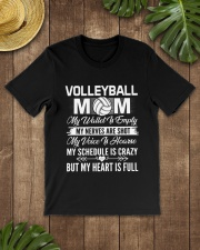 VOLLEYBALL MOM FULL Classic T-Shirt lifestyle-mens-crewneck-front-18