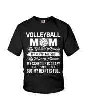 VOLLEYBALL MOM FULL Youth T-Shirt thumbnail