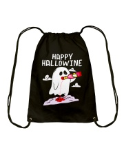 HAPPY HALLOWEEN Drawstring Bag thumbnail