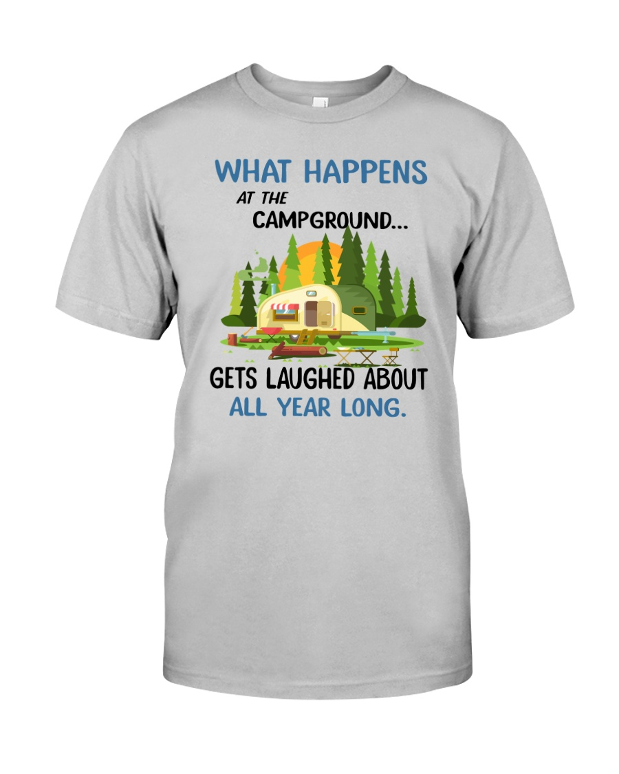 CAMPING LAUGHED Classic T-Shirt
