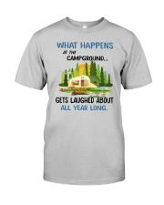 CAMPING LAUGHED Classic T-Shirt front