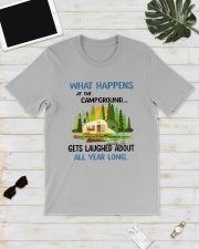 CAMPING LAUGHED Classic T-Shirt lifestyle-mens-crewneck-front-17