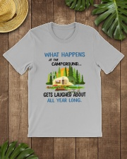 CAMPING LAUGHED Classic T-Shirt lifestyle-mens-crewneck-front-18