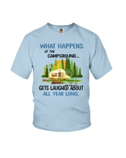 CAMPING LAUGHED Youth T-Shirt tile