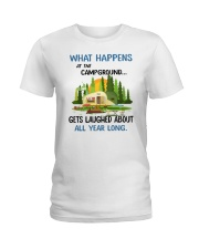 CAMPING LAUGHED Ladies T-Shirt tile