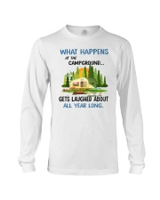 CAMPING LAUGHED Long Sleeve Tee tile