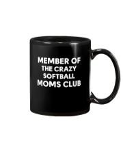 SOFTBALL MOMS CLUB Mug thumbnail