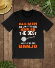 THE BEST PLAYING BANJO Classic T-Shirt lifestyle-mens-crewneck-front-18