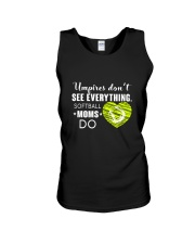 SOFTBALL MOMS DO BLACK Unisex Tank thumbnail