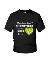 SOFTBALL MOMS DO BLACK Youth T-Shirt thumbnail