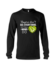 SOFTBALL MOMS DO BLACK Long Sleeve Tee thumbnail