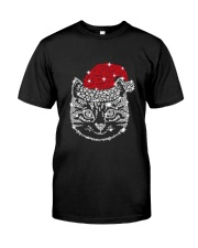 CAT HAT CHRISTMAS Classic T-Shirt front