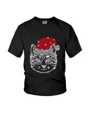 CAT HAT CHRISTMAS Youth T-Shirt thumbnail