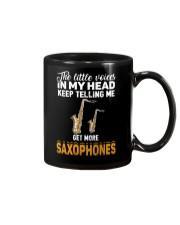 TELLING ME SAXOPHONE Mug thumbnail