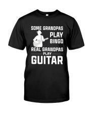 REAL GRANDPAS PLAY GUITAR Classic T-Shirt front