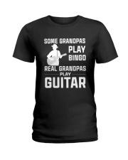 REAL GRANDPAS PLAY GUITAR Ladies T-Shirt thumbnail