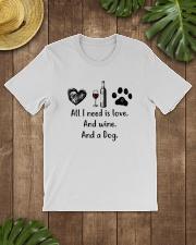 WINE DOG Classic T-Shirt lifestyle-mens-crewneck-front-18