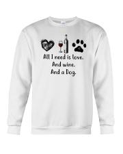 WINE DOG Crewneck Sweatshirt thumbnail