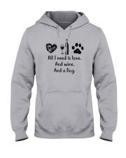WINE DOG Hooded Sweatshirt thumbnail