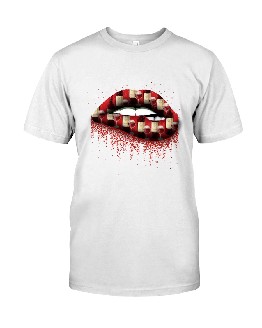 WINE LIP Classic T-Shirt