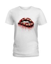 WINE LIP Ladies T-Shirt thumbnail