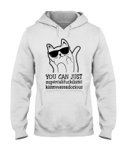 YOU CAN JUST CAT Hooded Sweatshirt thumbnail