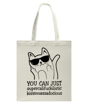 YOU CAN JUST CAT Tote Bag thumbnail