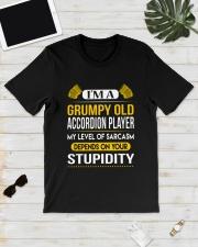 A GRUMPY OLD ACCORDION Classic T-Shirt lifestyle-mens-crewneck-front-17