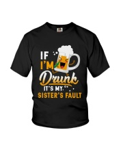 CAMPING DRUNK FAULT Youth T-Shirt thumbnail
