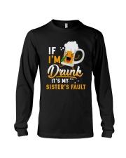 CAMPING DRUNK FAULT Long Sleeve Tee thumbnail
