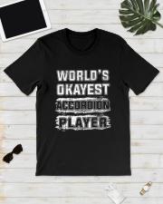 WORLD OKAYEST ACCORDION Classic T-Shirt lifestyle-mens-crewneck-front-17