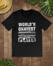 WORLD OKAYEST ACCORDION Classic T-Shirt lifestyle-mens-crewneck-front-18