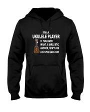 UKULELE STUPID QUESTION Hooded Sweatshirt thumbnail