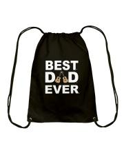 BEST GUITAR DAD EVER Drawstring Bag thumbnail