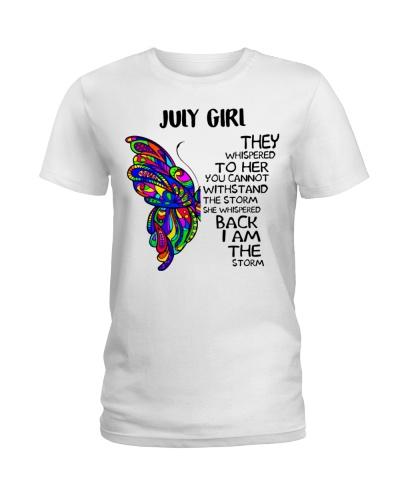 July GIRL - SHE WHISPERED BACK I AM THE STORM